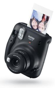 cámara instantánea negra