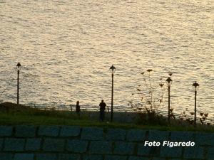 Atardecer en Gijón. Foto Figaredo, Gijón