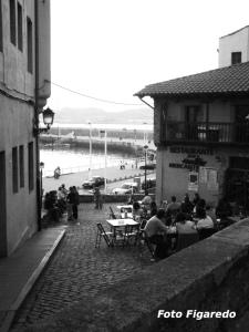Bares de Cimadevilla. Foto Figaredo, Gijón