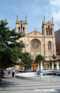 Iglesia de San Lorenzo. Foto Figaredo, Gijón