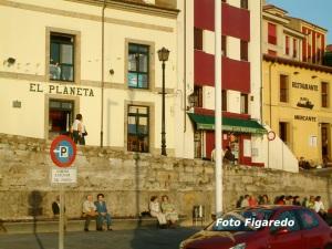 Cuesta del Cholo en Cimadevilla. Foto Figaredo, Gijón