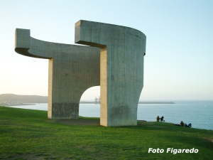 Elogio del Horizonte. Foto Figaredo, Gijón