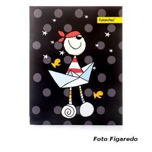 album fulanitos pirata. Foto Figaredo, Gijón