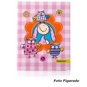 album fulanitos niña. Foto Figaredo, Gijón